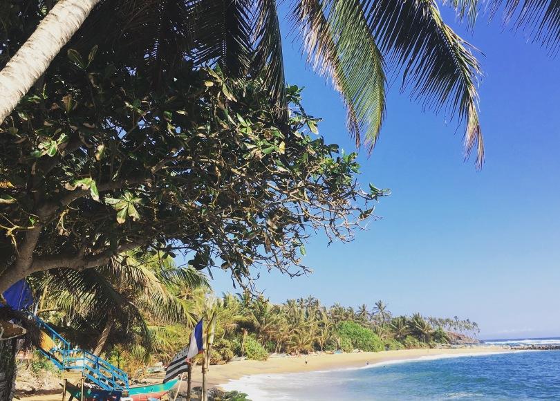 Beach in Mirissa Sri Lanka