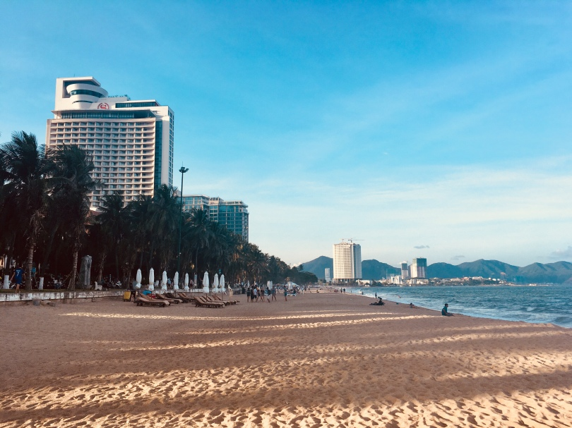 Beach in Nha Trang Vietnam