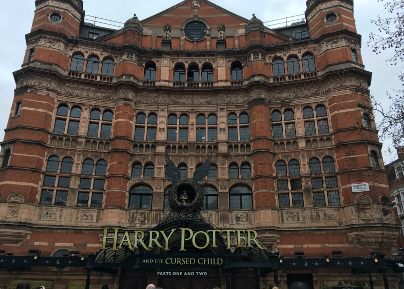 Harry Potter and the Cursed Child at Palace Theatre in London