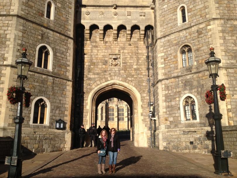 Windsor Castle entrance in Windsor, England