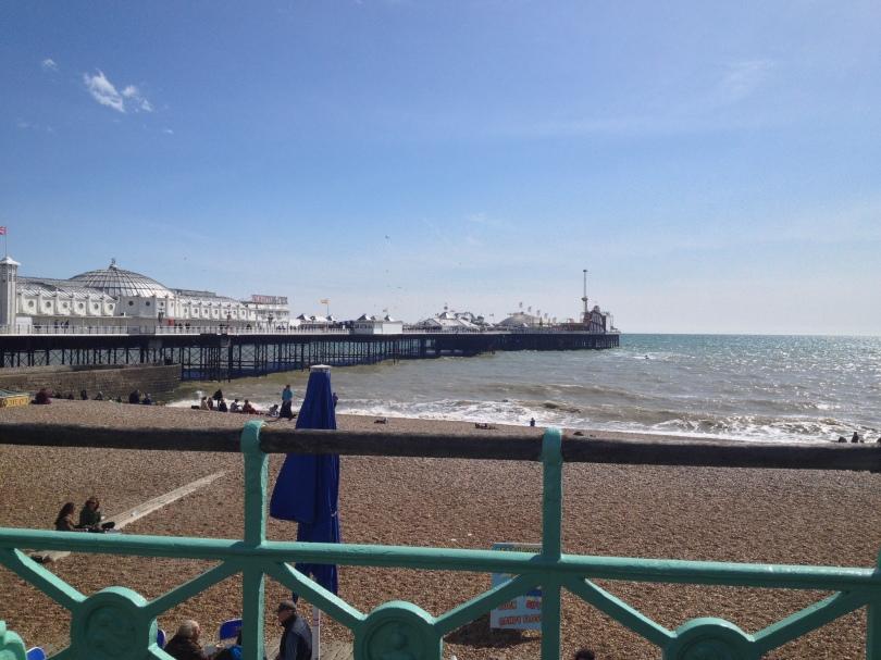Brighton pier and sea front