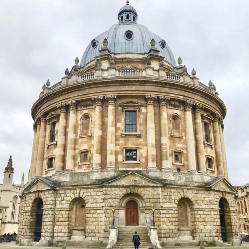Radcliffe Camera building at Oxford University in Oxford, England