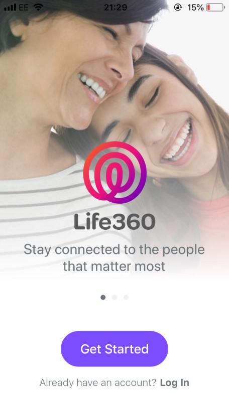 Life360 app screenshot