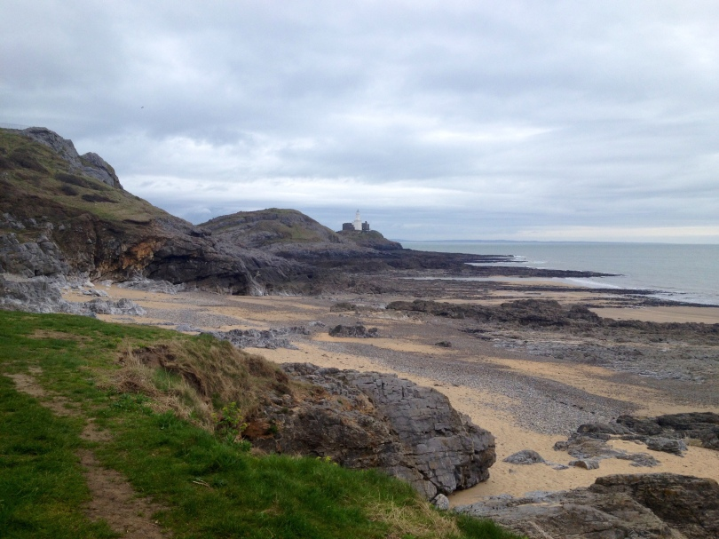 Bracelet Bay in Mumbles on the Gower Peninsula Wales